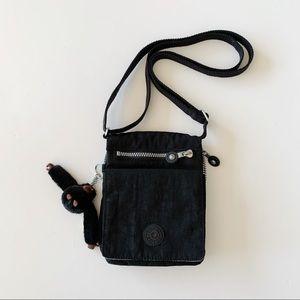 Kipling Eldorado Mini Crossbody Organize Black Bag